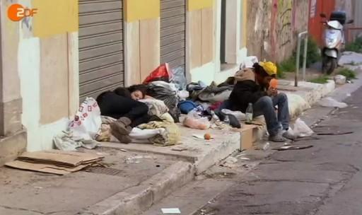 armoede in griekenland