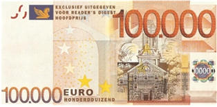 100000 euro biljet