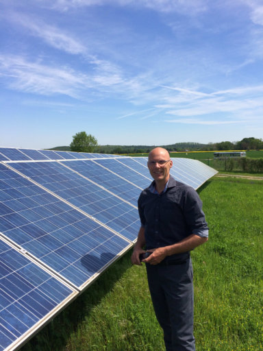 Tom Lassing, zonnepanelen