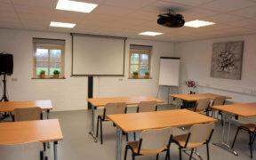 zaal, beursbox, presentatie