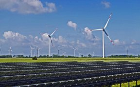 windmolens, duurzame energie
