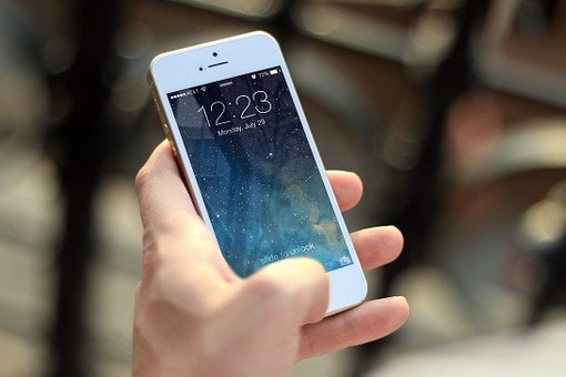telefoon, iPhone, smartphone