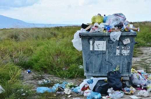 oplichting, afval
