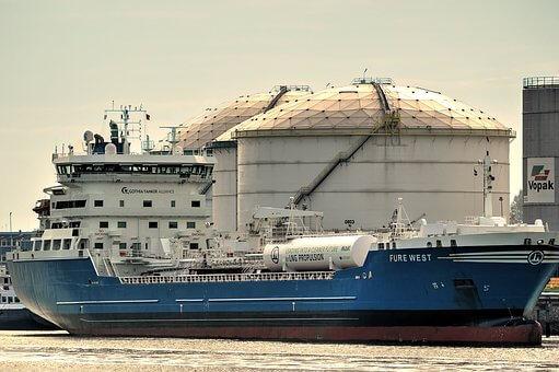 supertanker, olie
