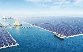 zonnepark op water