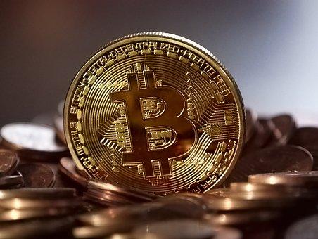 bitcoin, goud