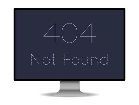 onbereikbaar, 404