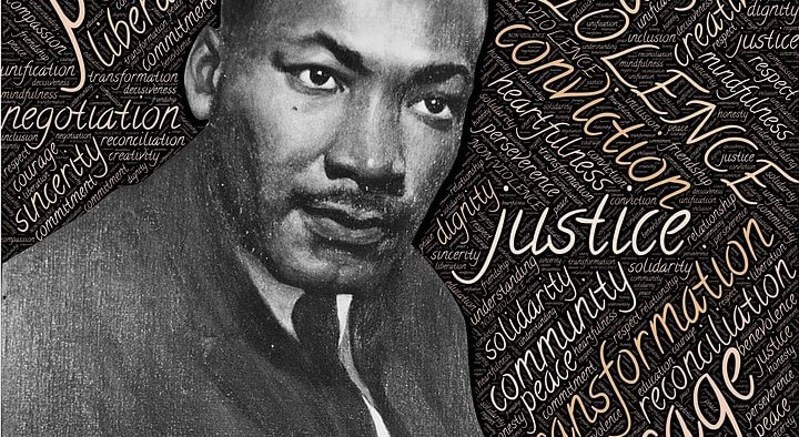 mlk. martin luther king