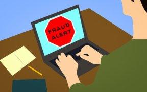 fraude waarschuwing
